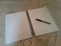 blank sketchpad